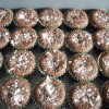 Flourless Chocolate Mini Cupcakes