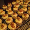 Mini Pumpkin Cupcakes with Brown Butter Icing and Caramelized Walnuts
