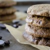 Espresso Almond Chocolate Chip Cookies