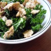 Raw Tuscan Kale Salad with Parmesan