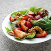 Spinach Arugula Strawberry Salad