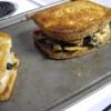 Toasted Chicken and Veggie Sandwich