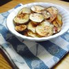 Baked BBQ Potato Chips