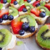 Mexican Wedding Fruit Pizza (and A Bridal Shower)