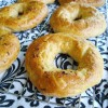 Whole Wheat Garlic Onion Bagels