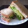 Smashed Chickpea & Avocado Sandwich