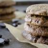 Espresso Almond Chocolate Chip Cookies